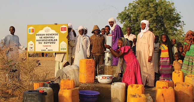 İHH Konya'dan Afrika'ya su kuyusu