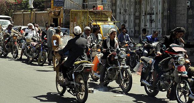 Yemen'deki motosiklet yasağı iptal edildi