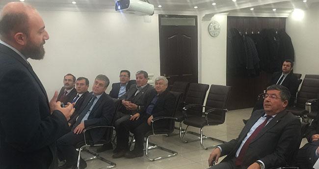 Karapınar'da 4 yıllık stratejik plan toplantısı