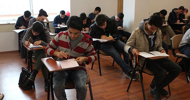 Karatay'da YGS deneme sınavları başladı