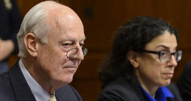 BM Suriye Özel Temsilcisi Mistura: Cenevre'deki Suriye görüşmeleri askıya alındı