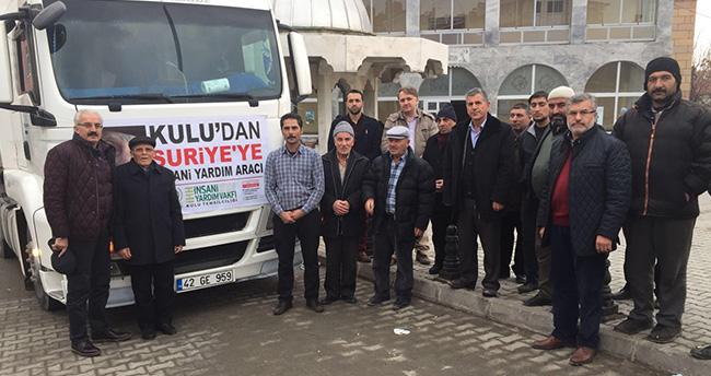 Konya, Suriye'yi unutmuyor