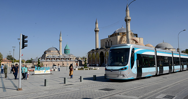 Konya'da tramvay durak isimleri değişti