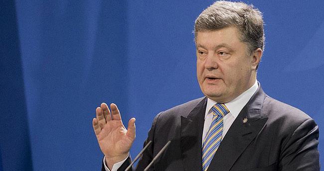 Ukrayna Devlet Başkanı Poroşenko: Avrupa Putin'in şantajlarının kurbanı olmamalı