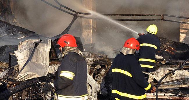 Erbil'de yangın: 17 ölü, 10 yaralı