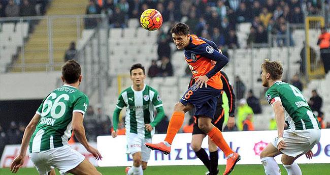 Bursa'da gol düellosundan galip çıkmadı