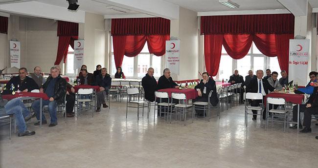 Akşehir Kızılay Şubesinin olağan genel kurulu yapıldı