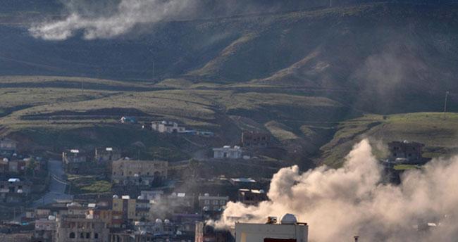 Cizre'de PKK'nın dağ kadrosu sıkıştırıldı