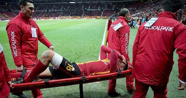 Galatasaray'a Sinan'dan kötü haber