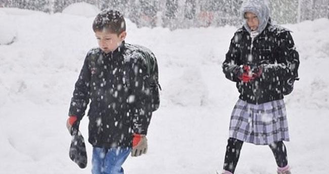 Okullar açılmadan ilk kar tatili haberi!