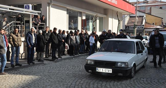 Konya'da ehliyetsiz sürücü dur ihtarına uymadı