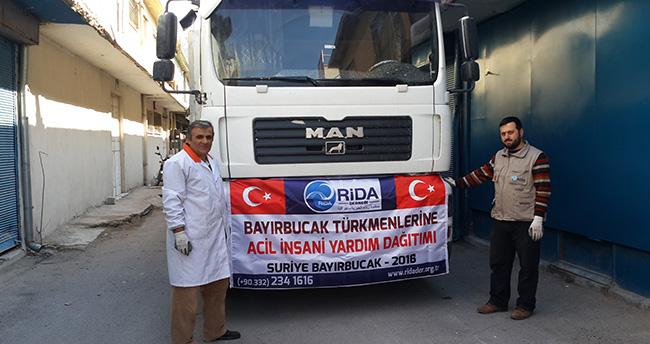 Rida-Der'den Bayırbucak Türkmenlerine yardım