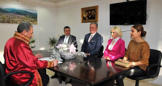 Akşehir Garnizon Komutanı Erdal Canol'un Mutlu Günü
