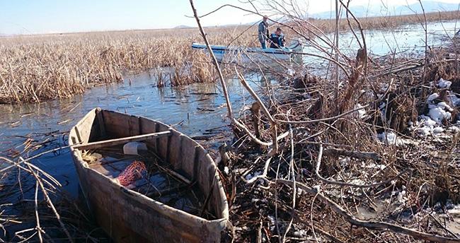 Beyşehir Gölü'nde elektroşaklu avlanmaya baskın
