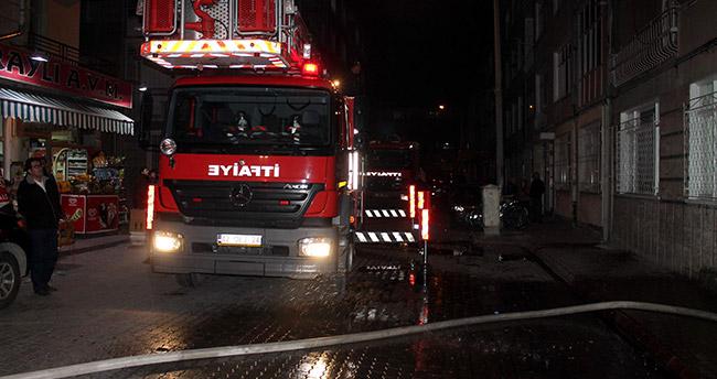 Konya'daki yangın korku dolu anlar yaşattı
