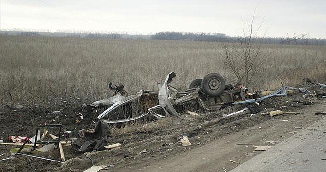 Ukrayna'da mayın patlaması: 4 ölü