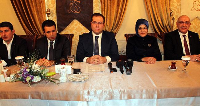 Ak Parti Meram'ın yeni yönetimi tanıtıldı