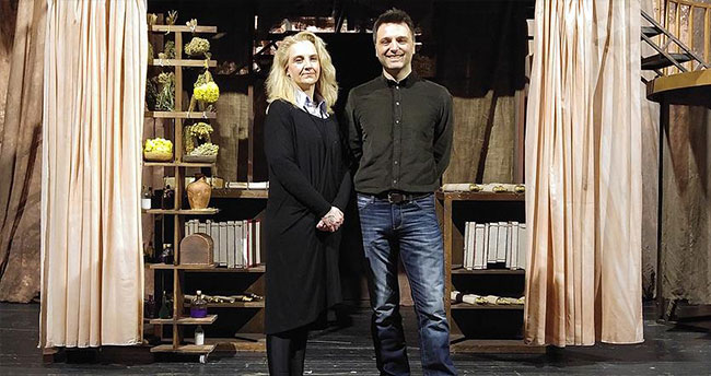 'Bersisa' tiyatro oyununun galası yapıldı