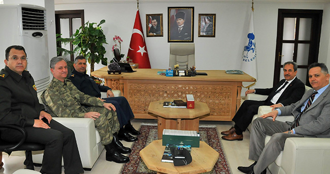 Konya Garnizon Komutanından Akşehir'e ziyaret