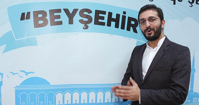 Yazar Hikmet Anıl Öztekin Beyşehir'de