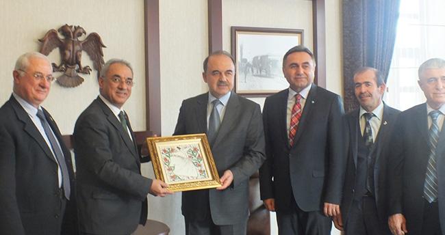 DSP Genel Başkanı Aksakal Konya'da