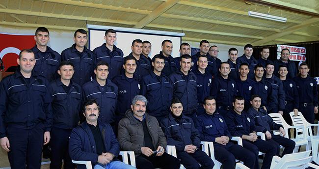 Ereğli'de polis adaylarına fotoğraf çekim kursu