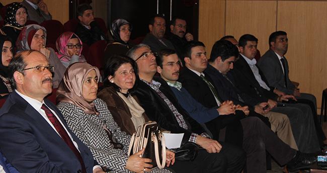 Halkapınar'da aile içi iletişim semineri verildi