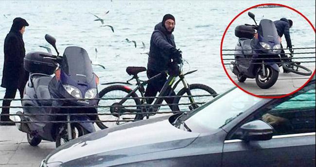 Serdar Ortaç bisiklet kazası geçirdi!