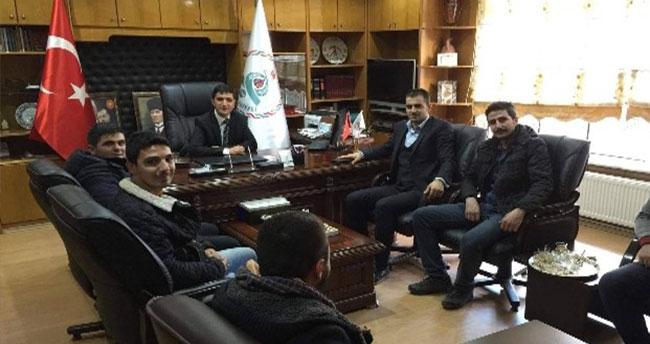 Çumra'da Genç Başkan Vekiline Ziyaret