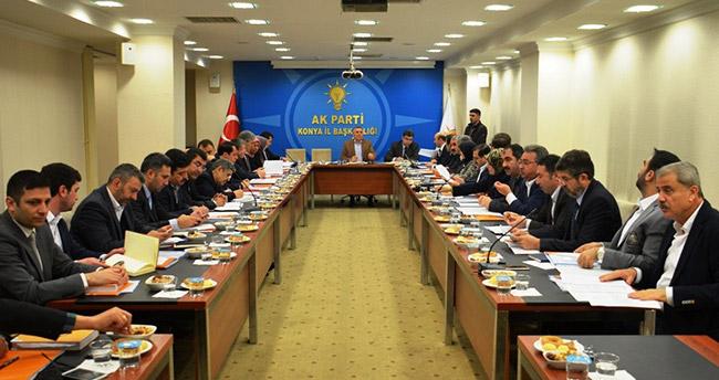 Konya AK Parti İl Koordinasyon Kurulu Toplantısı Yapıldı