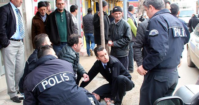 Konya'da hemşire ile polise saldıran kişi tutuklandı