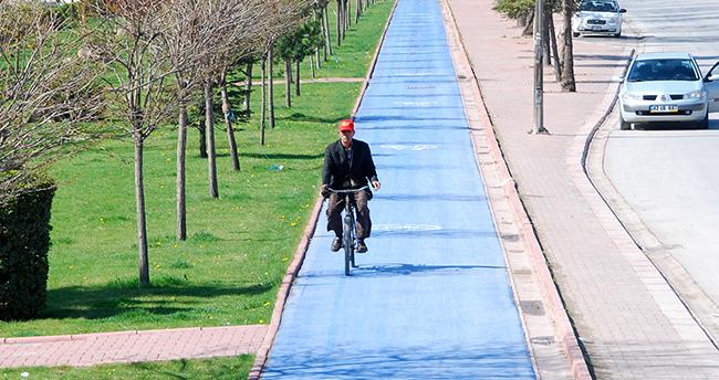 Konya'da Bisiklet Yolu Ağı 447 KM'ye Ulaştı