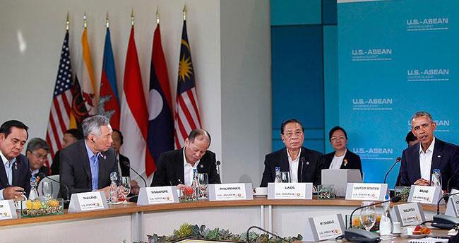 ABD-ASEAN zirvesinde bölgesel güvenlik konuları ele alındı