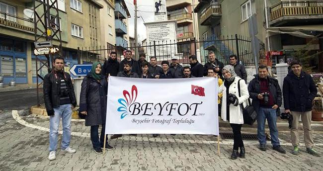 Beyşehirli fotoğraf severler Derebucak'ta buluştu