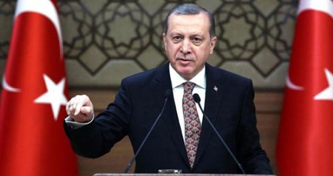 Cumhurbaşkanı Erdoğan'dan PYD açıklaması