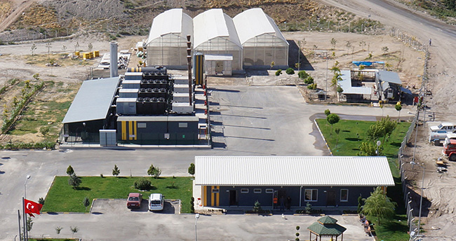 Konya'nın çöplerinden bir yılda 43 milyon kilowatt elektrik üretildi
