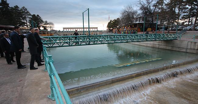 Beyşehir Belediyesi şelale projesini tamamladı