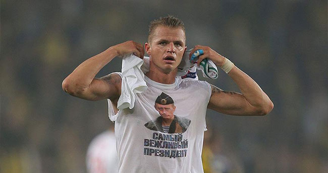 Futbolcu Tarasov'a kulüp tarihinin en yüksek para cezasının verildiği iddiası