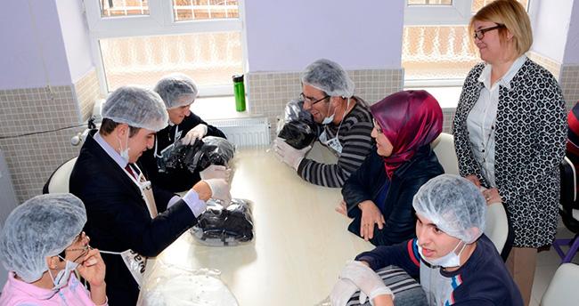 Meram Belediye Başkanı Toru özel öğrencilerle buluştu