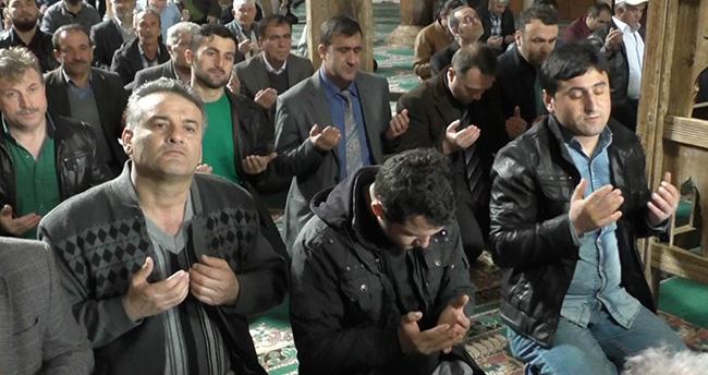 Beyşehir'de şehitler için mevlit okutuldu
