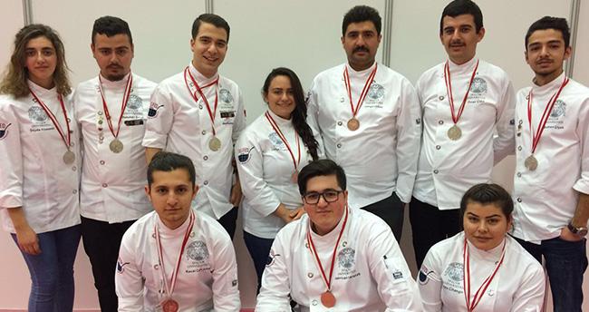 Selçuk Üniversitesi aşçılarından büyük başarı