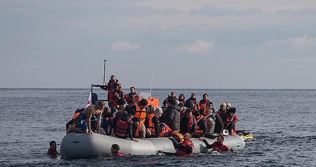 Ege'de 199 göçmen kurtarıldı