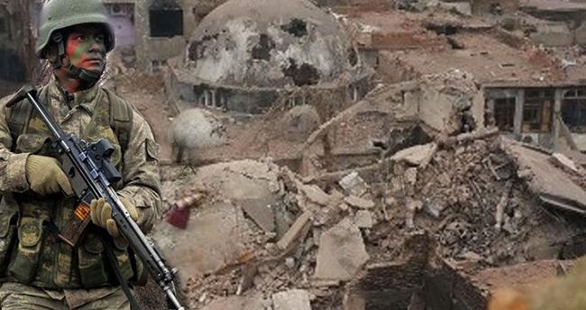 Sur'daki PKK'nın ana karargahı yerle bir edildi!