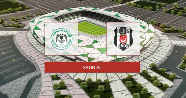 Torku Konyaspor Beşiktaş maçının biletleri satışta