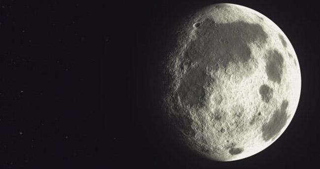Ay'ın karanlık tarafında tuhaf bir müzik!