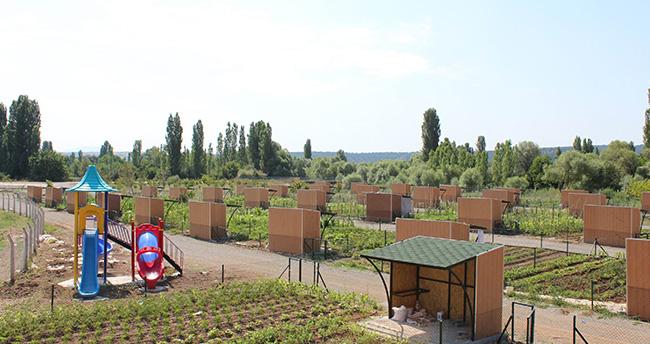 Konya'da hobi bahçeleri için yeni fırsat