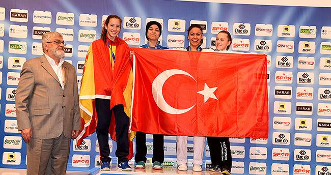 Konyalı Havva Nur Can Avrupa üçüncüsü oldu