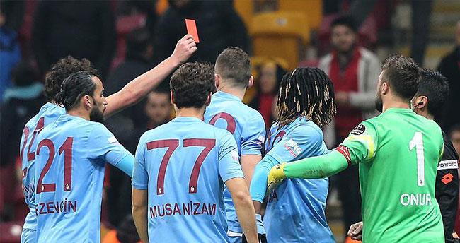 Trabzonspor'un hakem tepkisi sürüyor