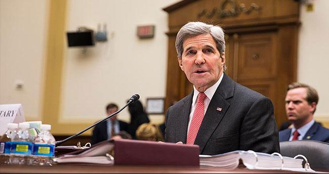 ABD Dışişleri Bakanı Kerry: Türkiye'nin endişelerine karşı çok hassasız