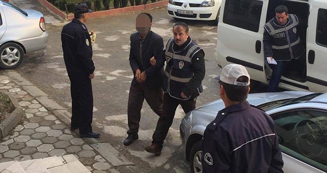 Akşehir'deki cinayet zanlısı tutuklandı